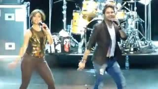 Sunidhi Chauhan & Rakesh Maini live   Disco deewane   31 08 2014   Frankfurt a M