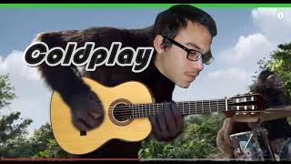 Coldplay Adventure Of A Lifetime - Salomon Diaz Fingerstyle guitar  (cover)