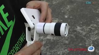 DX: Universal 8X Telescope / Microscope Lens for iPhone