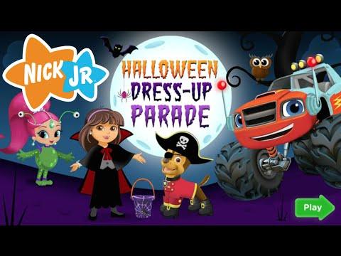 Halloween Dress Up Parade Full New Nick JR HD Game Episode