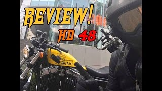 Review Sportster Forty Eight 2017 Prueba de manejo