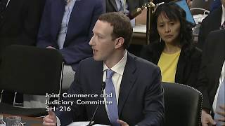 Cornyn Questions Facebook's Zuckerberg on Data Privacy Concerns