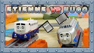 Etienne vs Hugo! Incredible trials! TrackMaster | Thomas and Friends  #59