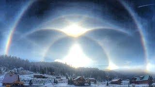 Strange Sky Phenomena Escalates-Sun is Falling Silent