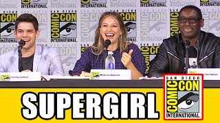 SUPERGIRL Comic Con 2017 Panel Part 1 - Season 3, News & Highlights