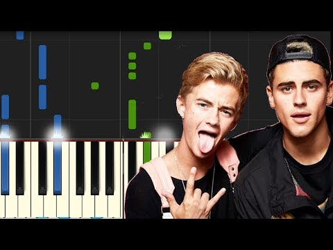 """Download Jonas Blue ft Jack Jack - """"Rise"""" Piano Tutorial - Chords - How To Play - Cover free"""
