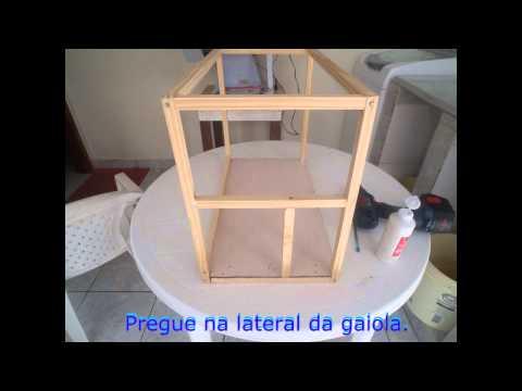 Como fazer uma gaiola de forma fácil e rápida