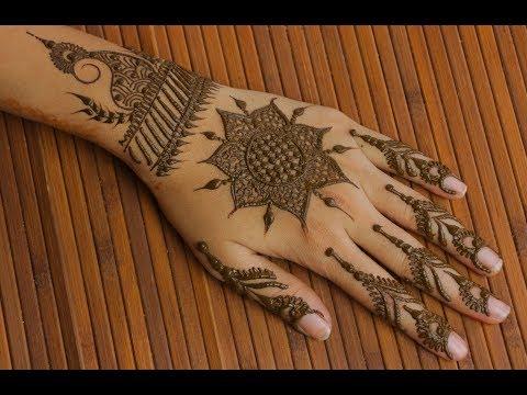 Latest Arabic Mehndi Design-10 | Simple Back hand Mehndi Design | Best Wedding Designs