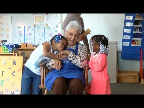 92-Year-Old Surrogate Grandma Gives Unconditional Love To Pre-Kindergartners