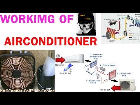 How to make air conditioner at home -TAMIL