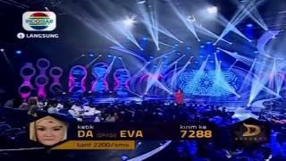 EVA Surga Dibawah Telapak kaki Ibuquot  Konser FINAL 15 Besar DAcademy 28 Maret 2014