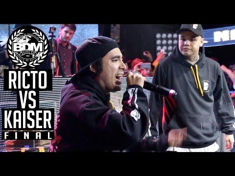 BDM Gold Chile 2017 Final RICTO vs KAISER