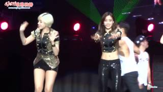 131221 Eunjung - 'Bye bye' @ T-ara's ON-AIR concert in Guangzhou