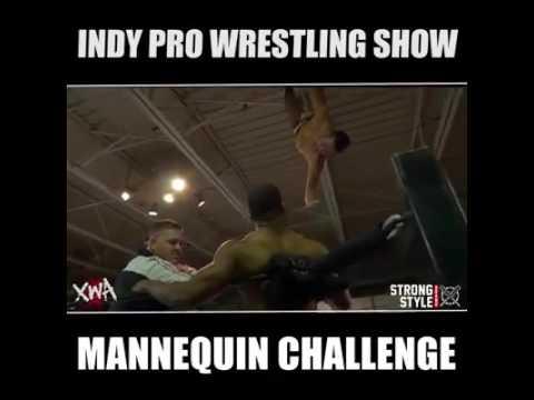 XWA Indy Wrestling Mannequin Challenge