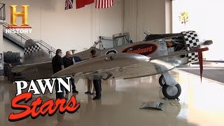 Best of Pawn Stars: WWII AT-6 Texan Plane | History