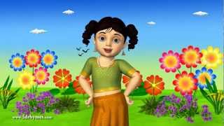 Chubby Cheeks Dimple Chin - 3D Animation Nursery rhyme for children with Lyrics