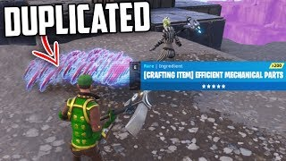 Can You DUPLICATE ITEMS on Fortnite Save The World?