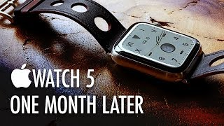 Apple Watch 5 Review: One Month Later