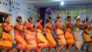 kissan Cultural dance, Rajgangpur parish youth