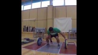 Dmitry Klokov One arm snatch - 95 kg