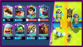 OMG!! ALL LEGENDARY DECK IN CLASH ROYALE!
