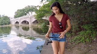 Fishing with my Sister in Washington D.C. (Last Time Before She Moves to Florida!!!)