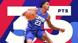 Lou Williams Game Winner vs Wizards! 35 Pts off Bench! 2017-18 Season