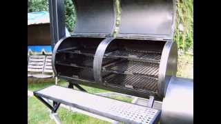 My Homemade Custom Barbecue Smoker, Build Your Own