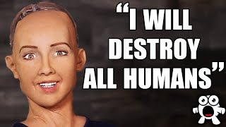 Top 10 Scariest Things Robots Have Ever Said