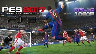 PES 2017 PS3 Gameplay 1080p
