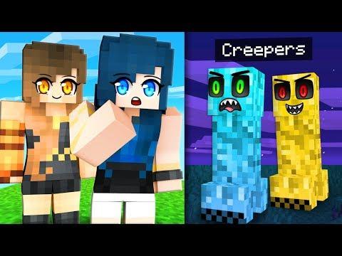 Life as a Minecraft Creeper