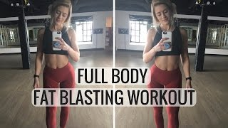 Full Body 15 Minute Workout | Do It Anywhere!