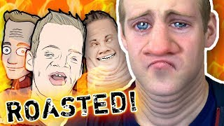 I GET ROASTED through Insulting ART!? - *SAVAGE*