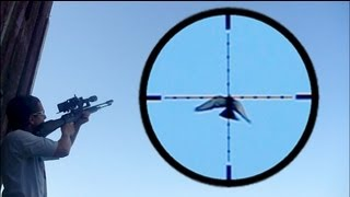 Shooting Pigeons in Flight with FX Revolution Semi-Automatic Air Rifle