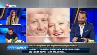 Diş Hekimi Alpay Hava - Beyaz Tv Sağlık Zamanı 19.06.2016