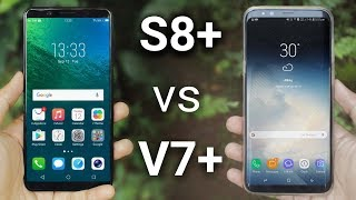 Vivo V7+ vs Galaxy S8+ | Quick Comparison