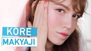 Kore Tarzı Makyaj   K-Pop Şarkıcısı Olmayı Denedim!