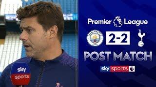 """I am in love with VAR!"" | Mauricio Pochettino Post Match | Man City 2-2 Tottenham"