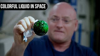 Colorful Liquid in Space