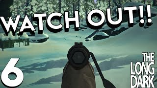HOW TO DEAL WITH WOLVES | The Long Dark Stalker Difficulty Gameplay #6