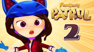 💜 Fantasy Patrol Story 2 - super hero girl cartoon movies - Moolt Kids Toons💜