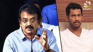 Producer KR to Vishal: Don'T Play THEERATHA VILAYATTU PILLAI Here   Council Election