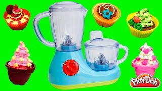 Just Like Home Cooking Playset How to Make Cupcakes Play Doh Cakes Toy Food Toy Videos
