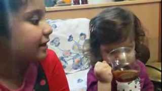 دینا وپرنیان دختر دایی ودختر عمه هستند