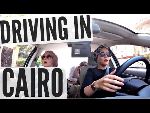 DRIVING IN CAIRO!