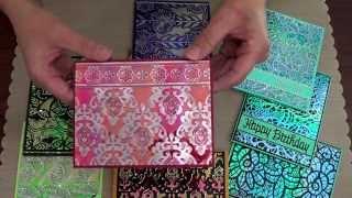 Elizabeth Craft Designs Shimmer Sheetz for Card Making