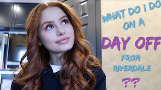 How do I spend a day off from Riverdale in Vancouver? | Madelaine Petsch