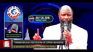 TREMENDOUS VISITATION OF OPEN HEAVENS & MASSIVE HEALINGS COMING TO LIMA, PERU   PROPHET DR  OWUOR