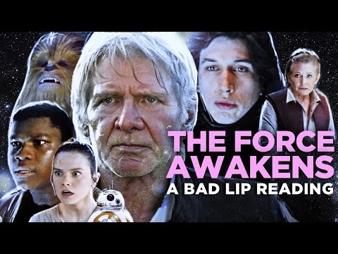 THE FORCE AWAKENS A Bad Lip Reading Featuring Mark Hamill as Han Solo