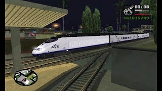 Secret Bullet Train (Superfast) Revealed || GTA San Andreas